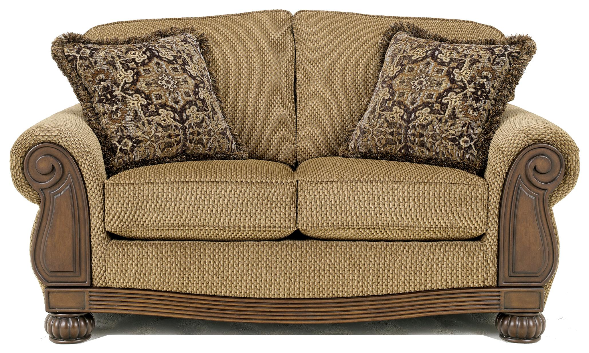 Signature Design by Ashley Lynnwood - Amber Loveseat - Item Number: 6850035