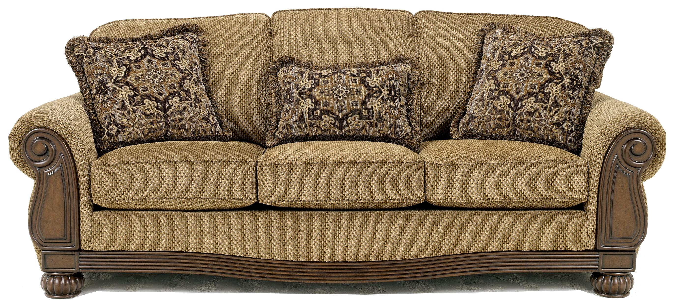 Signature Design by Ashley Lynnwood - Amber Sofa - Item Number: 6850038