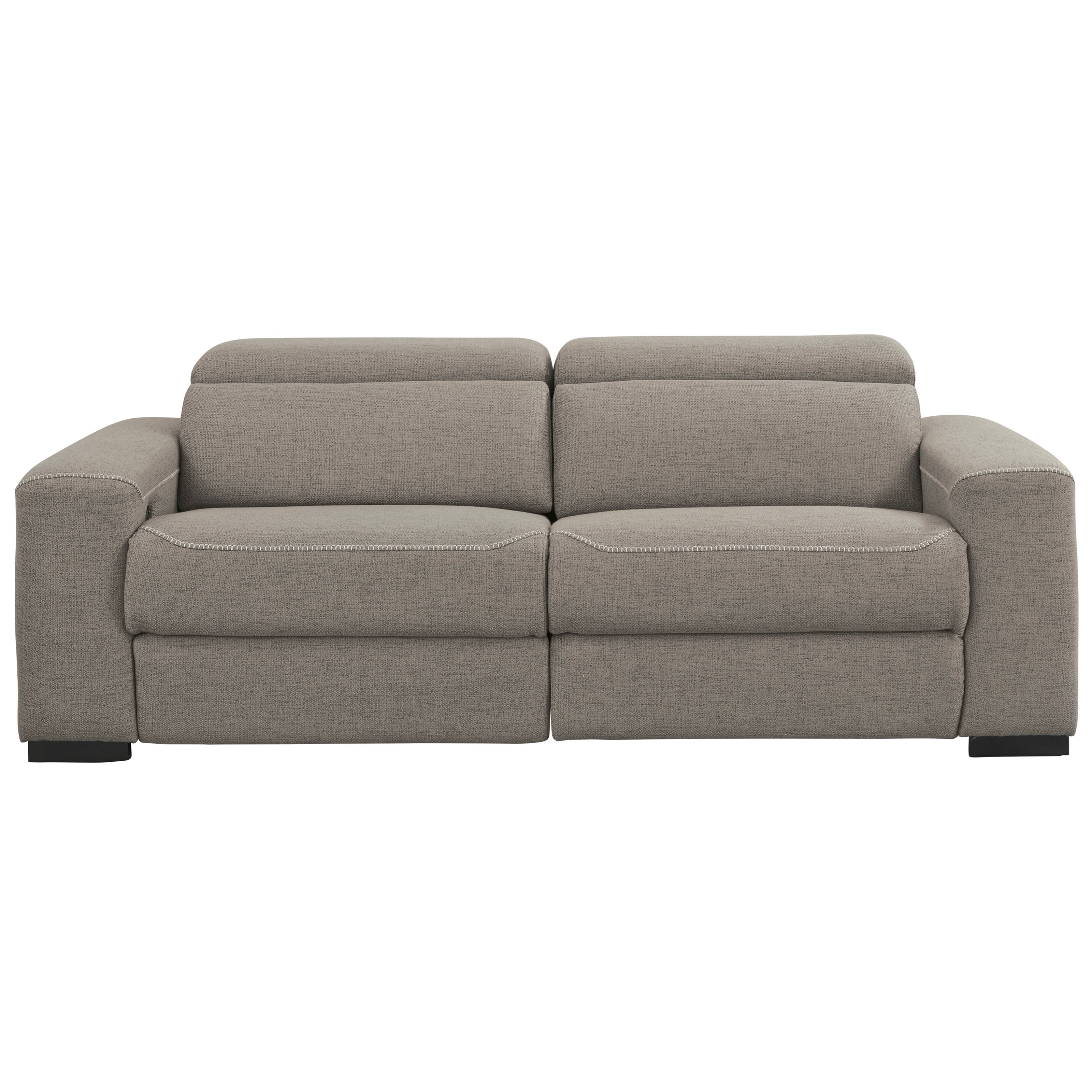 Signature Design By Ashley Mabton 7700558 62 Power Reclining Loveseat W Power Headrests Furniture And Appliancemart Reclining Loveseats
