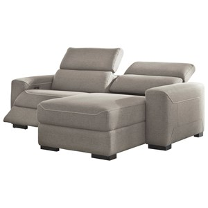 2-Piece Power Reclining Sectional w/ Chaise