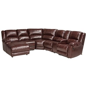 Signature Design by Ashley MacGrath DuraBlend® Reclining Sectional