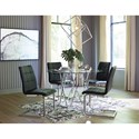 Signature Design by Ashley Madanere  Contemporary Fully Upholstered Dining Side Chair