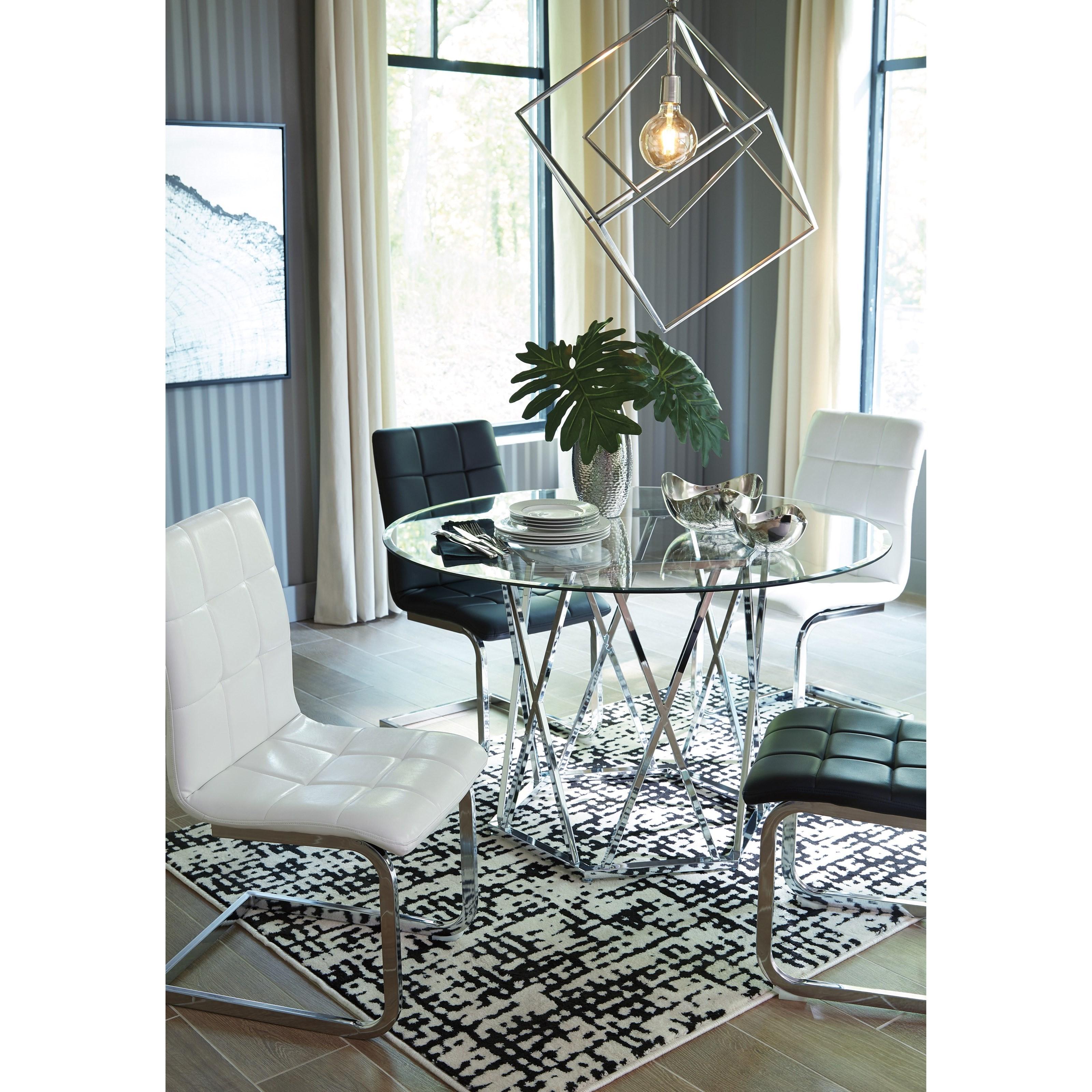 Ashley Dining Table: Ashley Signature Design Madanere D275-15 Contemporary