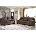 Signature Design by Ashley Maderla Living Room Group - Item Number: PKG010993