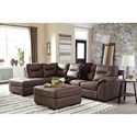 Signature Design by Ashley Maderla Living Room Group - Item Number: PKG010996
