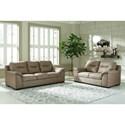 Signature Design by Ashley Maderla Living Room Group - Item Number: PKG010999