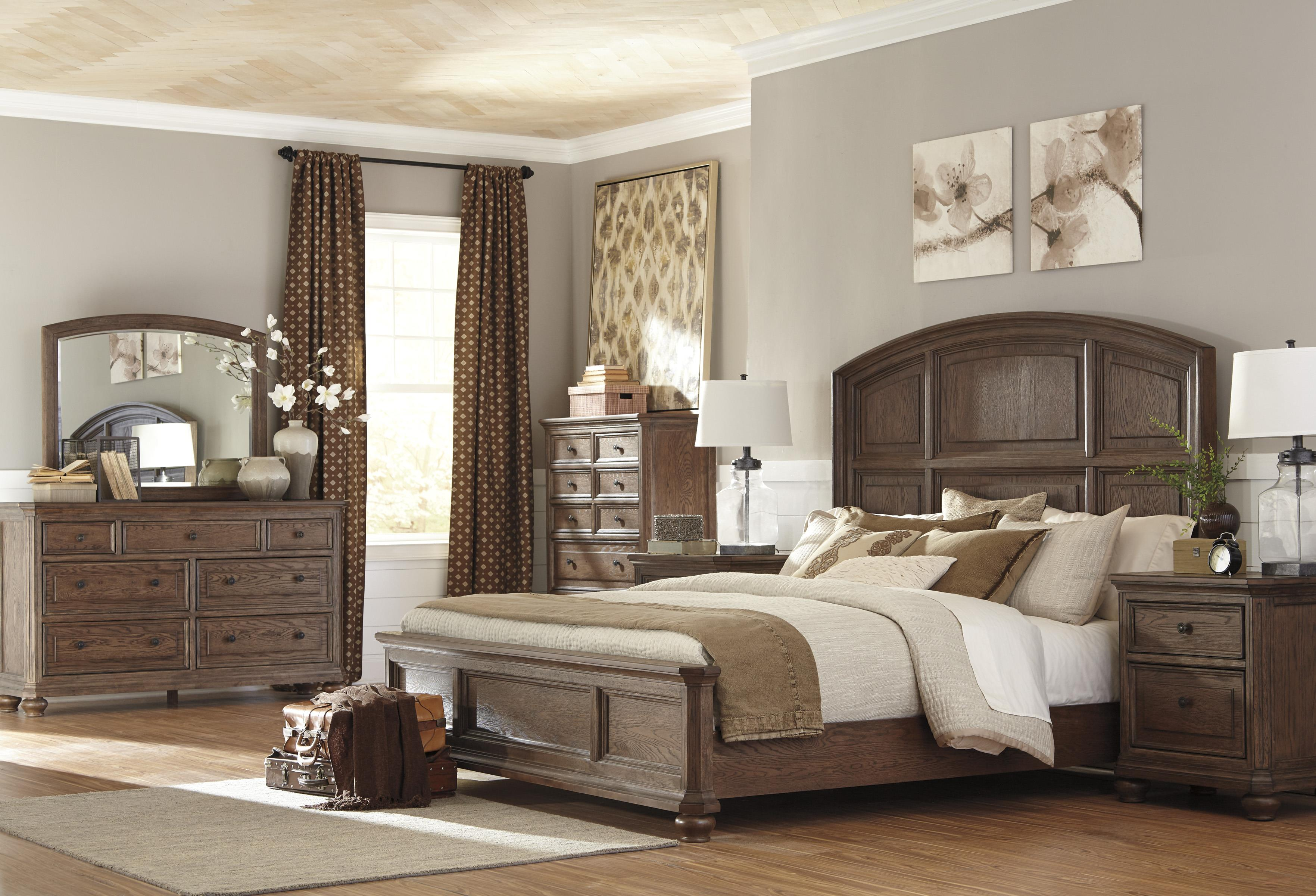 Signature Design by Ashley Maeleen King Bedroom Group - Item Number: B709 K Bedroom Group 1