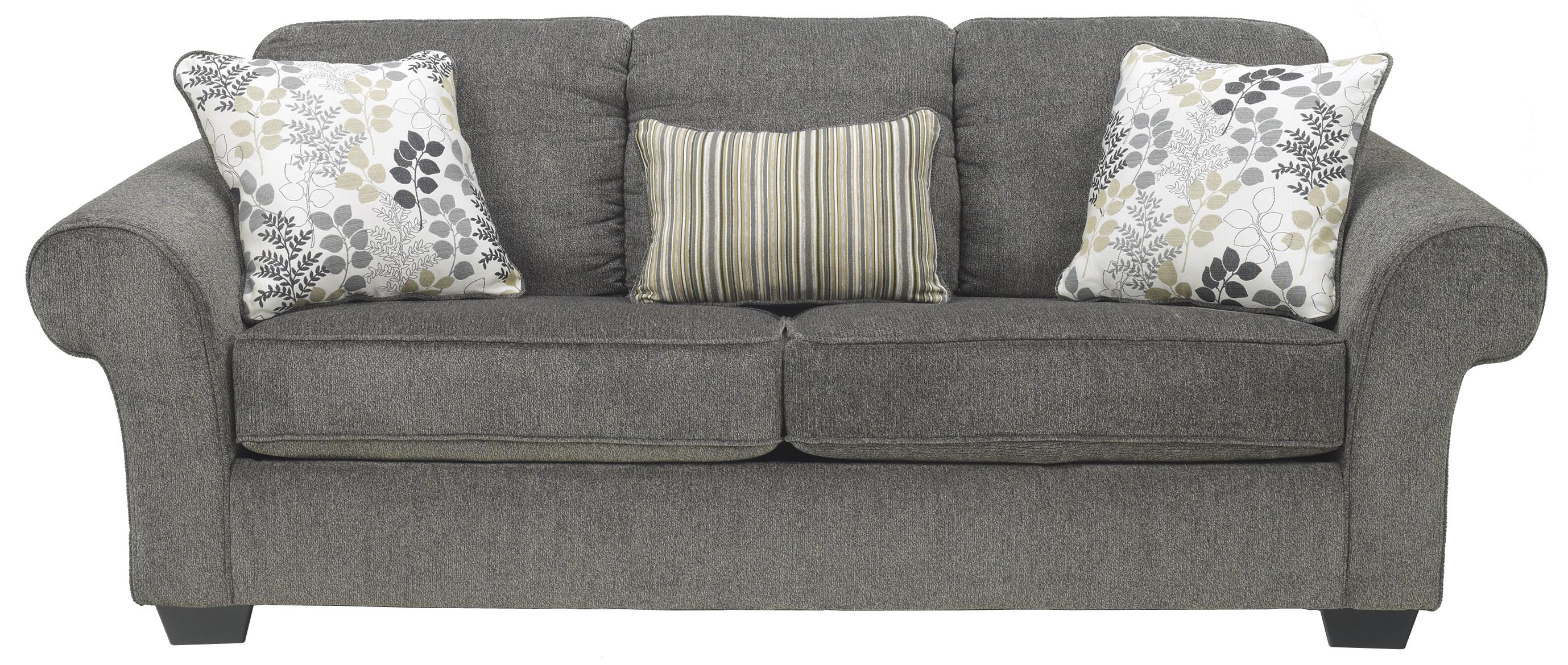 Signature Design by Ashley Makonnen - Charcoal Queen Sofa Sleeper - Item Number: 7800039