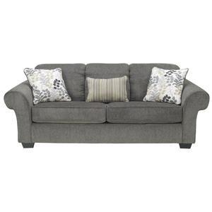 Signature Design by Ashley Makonnen - Charcoal Queen Sofa Sleeper