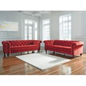 Signature Design by Ashley Malchin Stationary Living Room Group - Item Number: 40301 Living Room Group