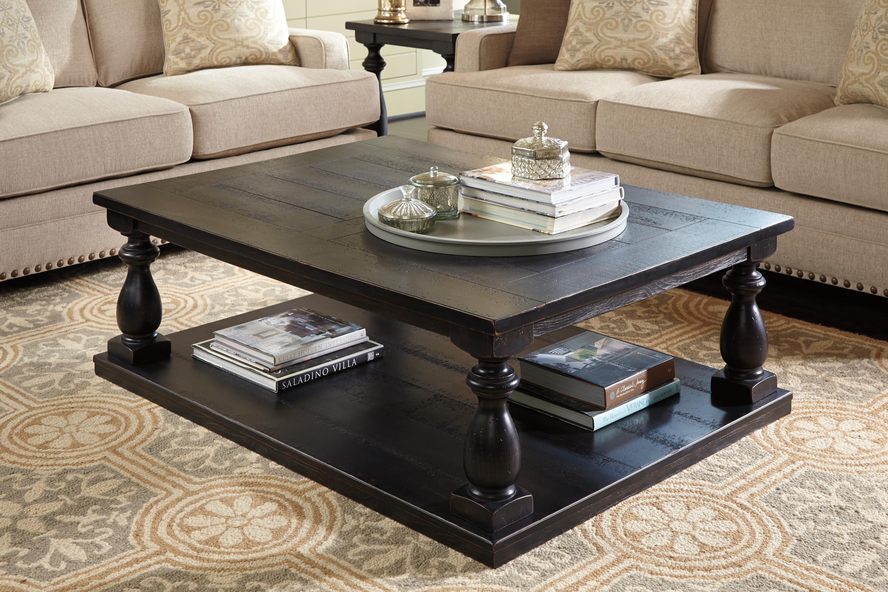Ashley (signature Design) Mallacar Rustic Black Finish. Glass Dressing Table. Long Reception Desk. Mobile Standing Desk. Coffee Table Industrial. Foldable Ping Pong Table. Patio Table Plans. White Dining Table. Kitchen Cabinet Desk Units