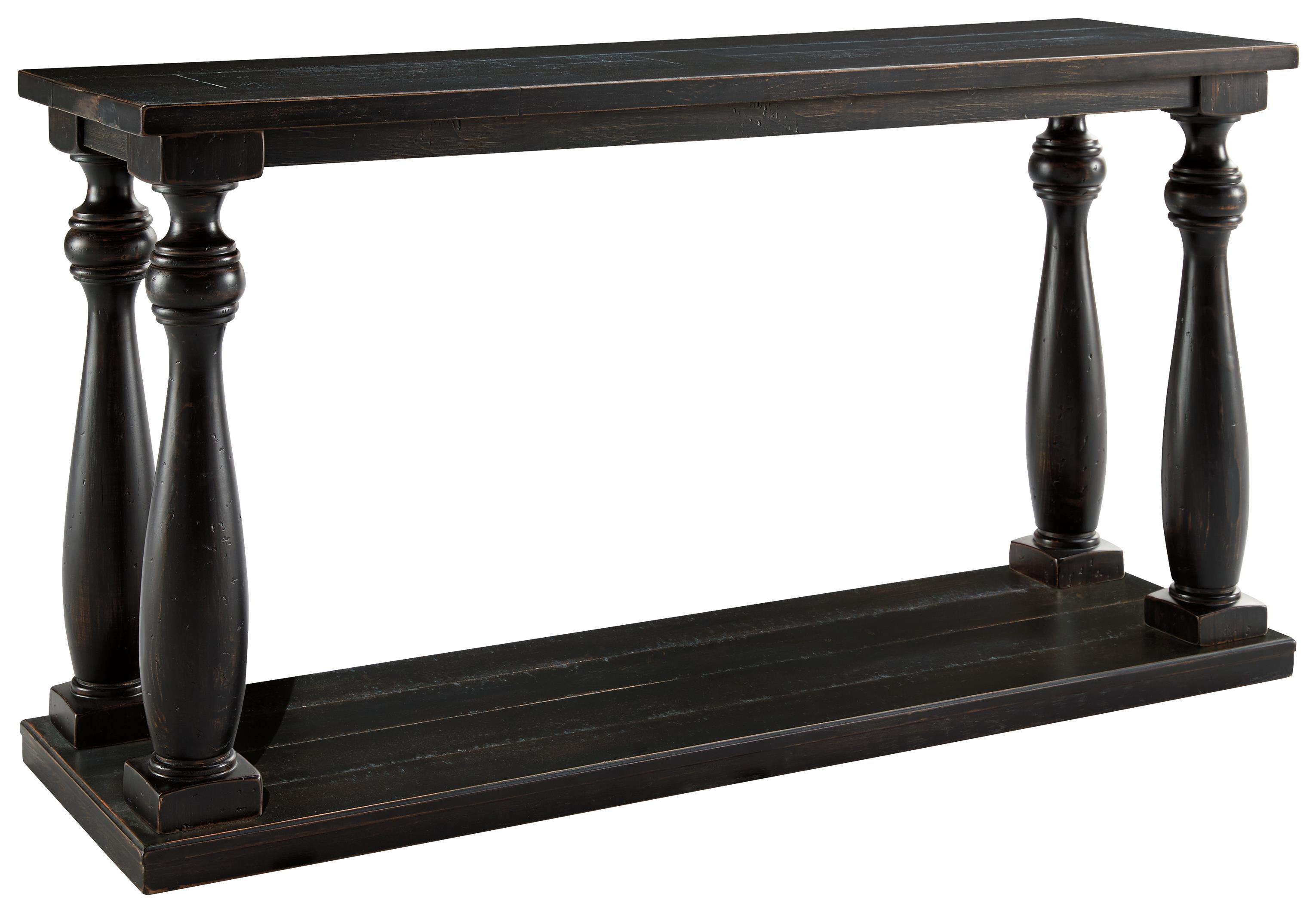 Signature Design by Ashley Mallacar Sofa Table - Item Number: T880-4
