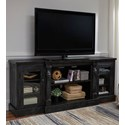 Signature Design by Ashley Mallacar XL TV Stand - Item Number: W880-68