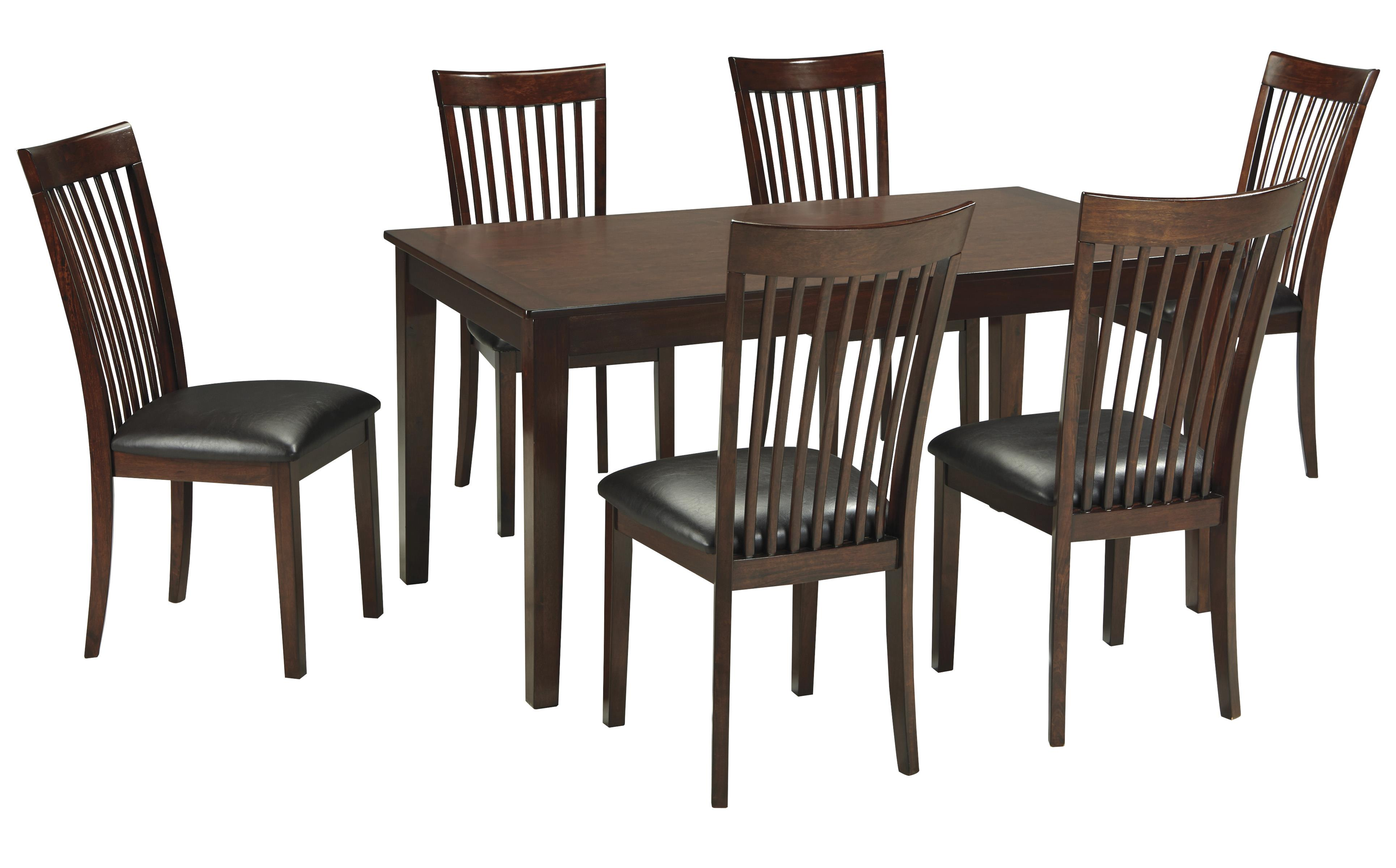 Signature design by ashley mallenton mission style 7 piece for 7 piece dining set with bench