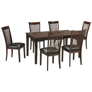 Signature Design by Ashley Mallenton 7 Piece Dining Room Table Set