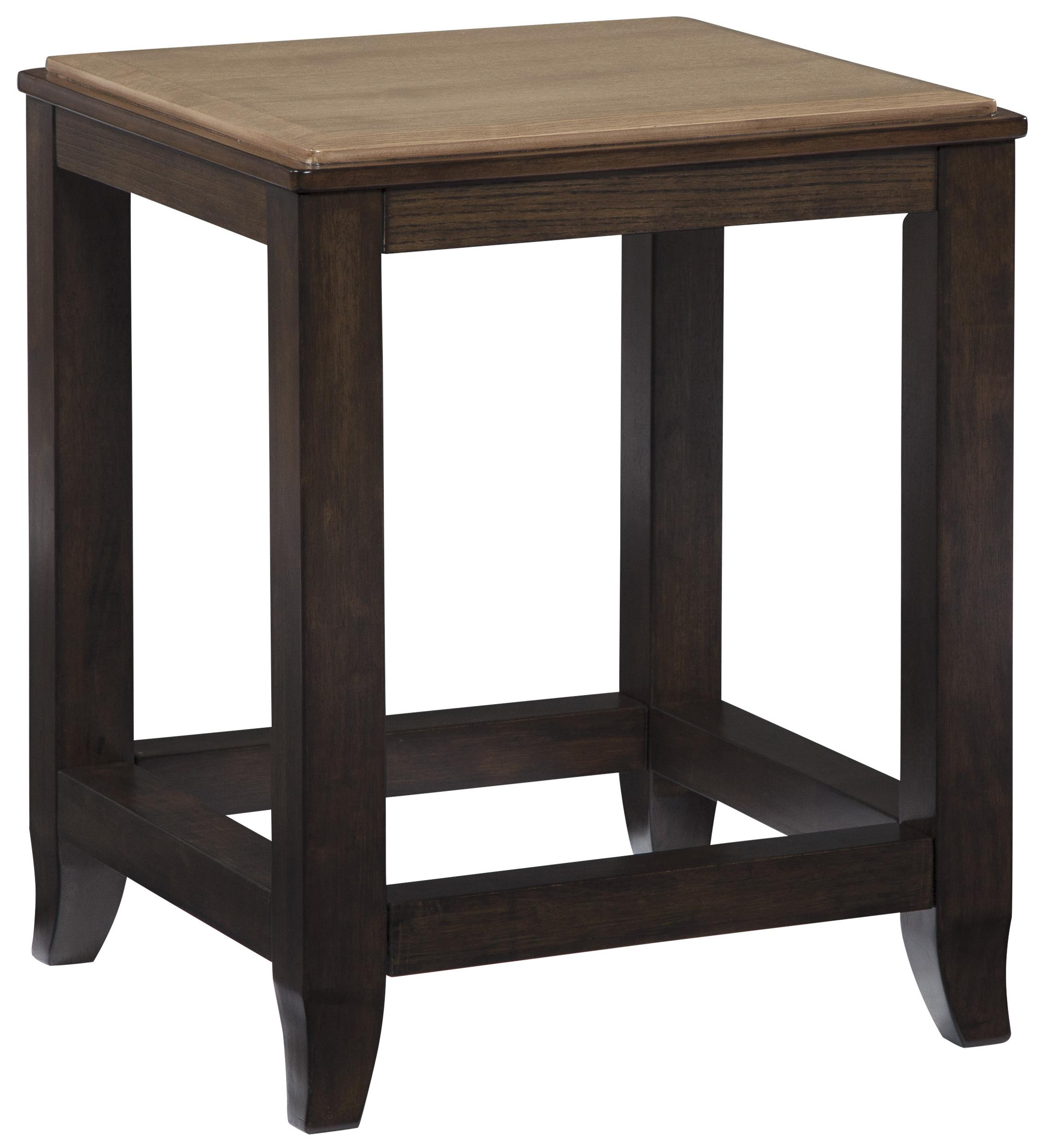 Signature Design by Ashley Mandoro Square End Table - Item Number: T388-2