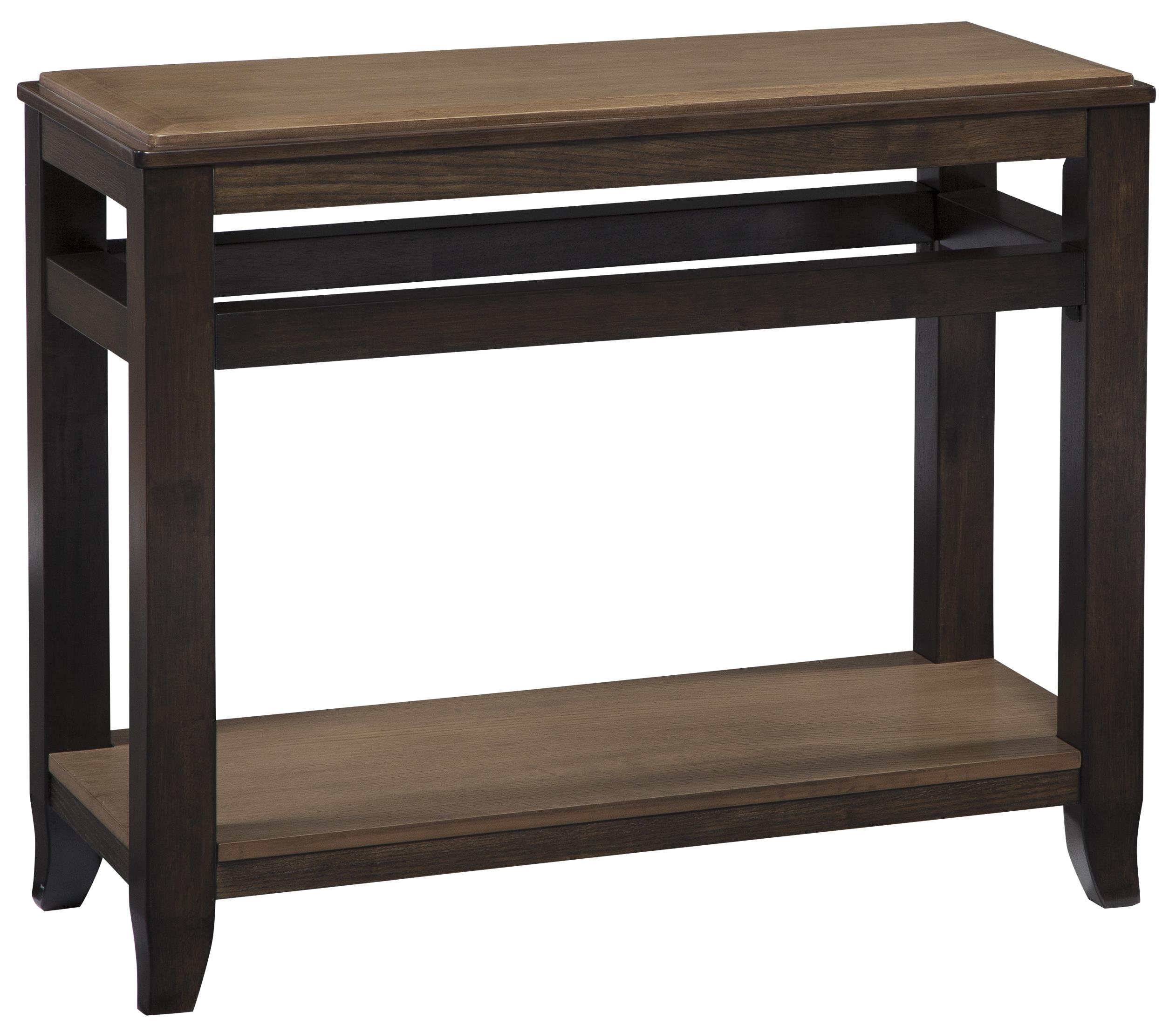 Signature Design by Ashley Mandoro Sofa Table - Item Number: T388-4