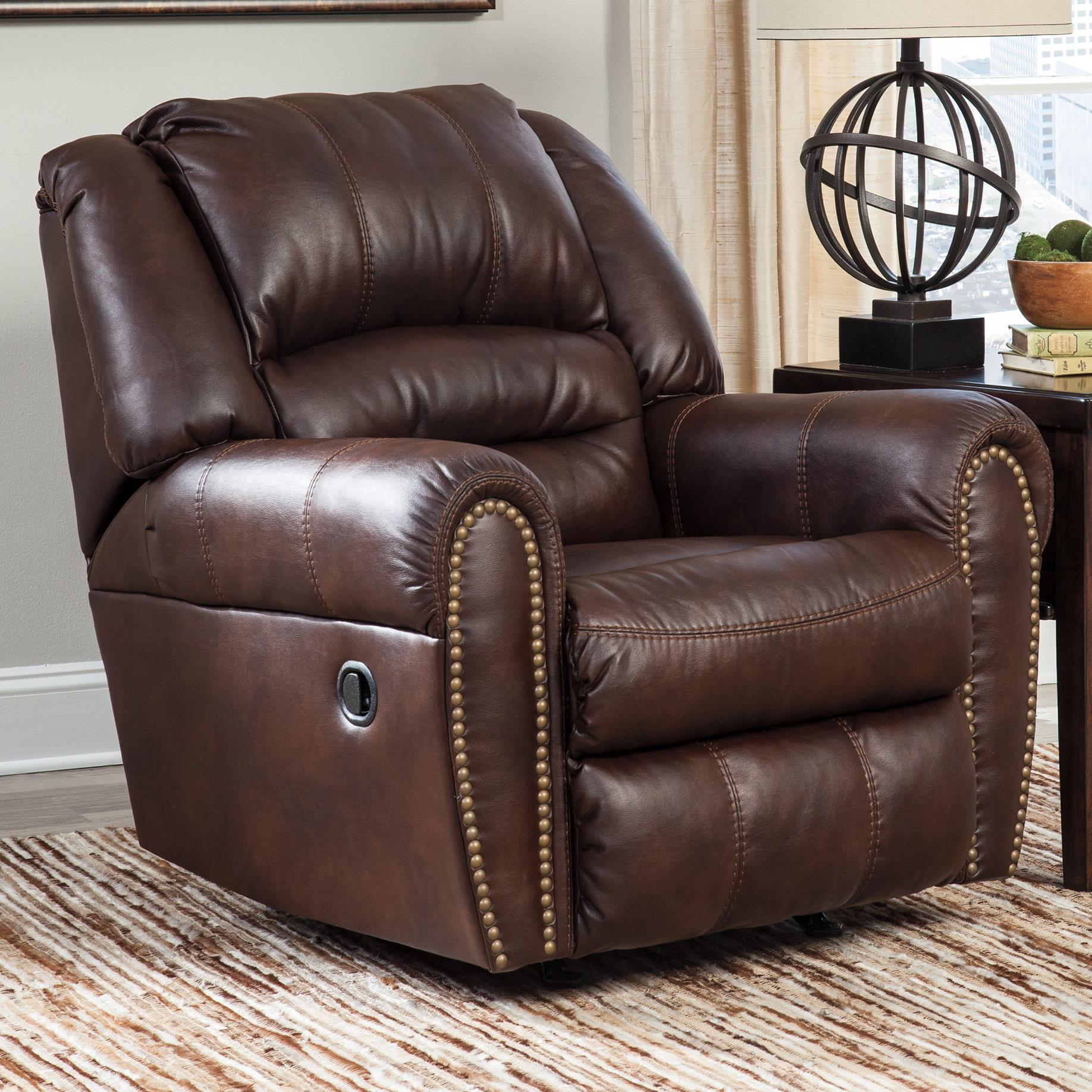 Signature Design by Ashley Manzanola Rocker Recliner - Item Number: 5120225