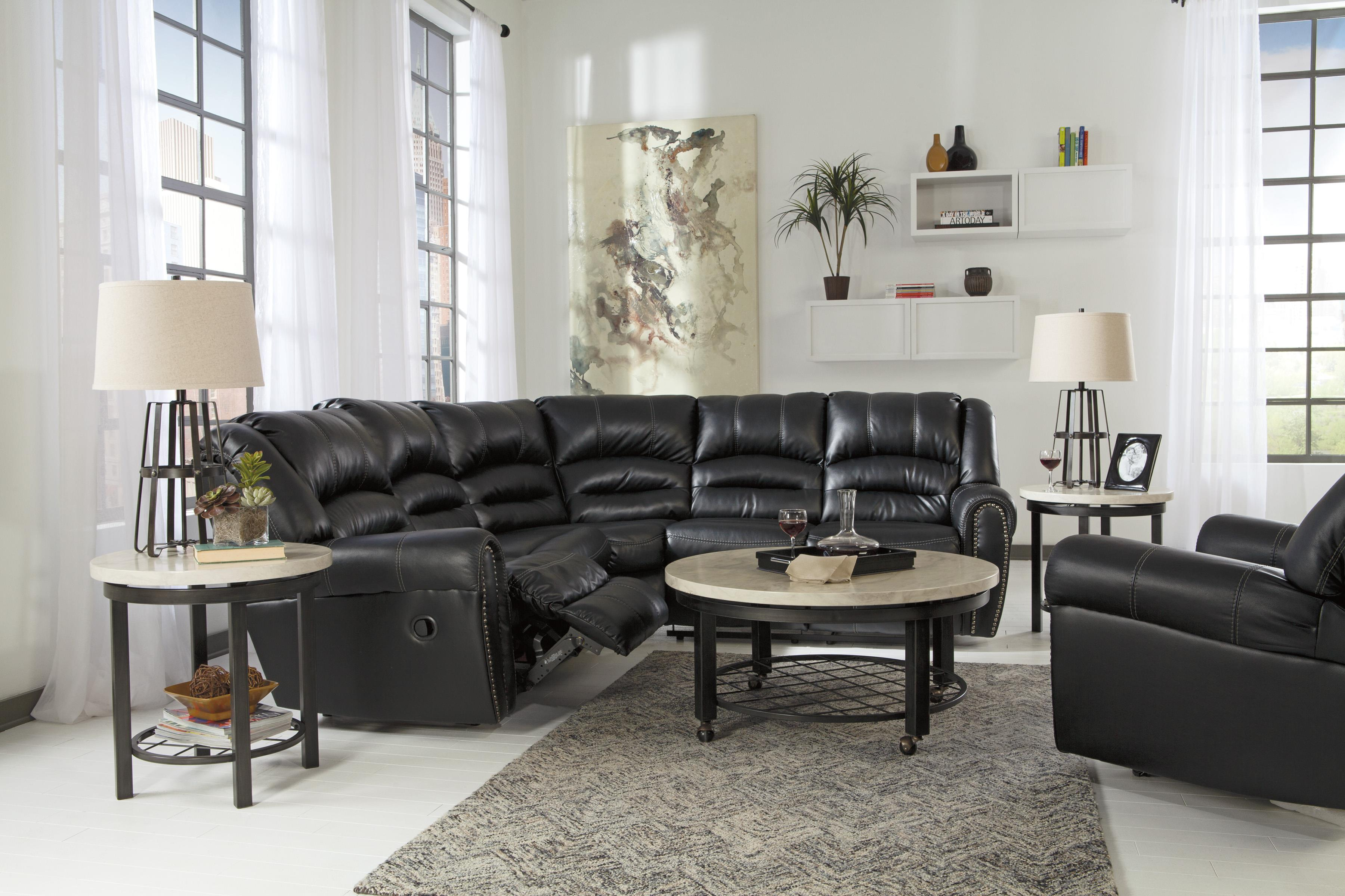 Signature Design By Ashley Manzanola Reclining Living Room Group Value City Furniture