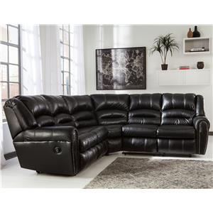 Signature Design by Ashley Manzanola Reclining Sectional