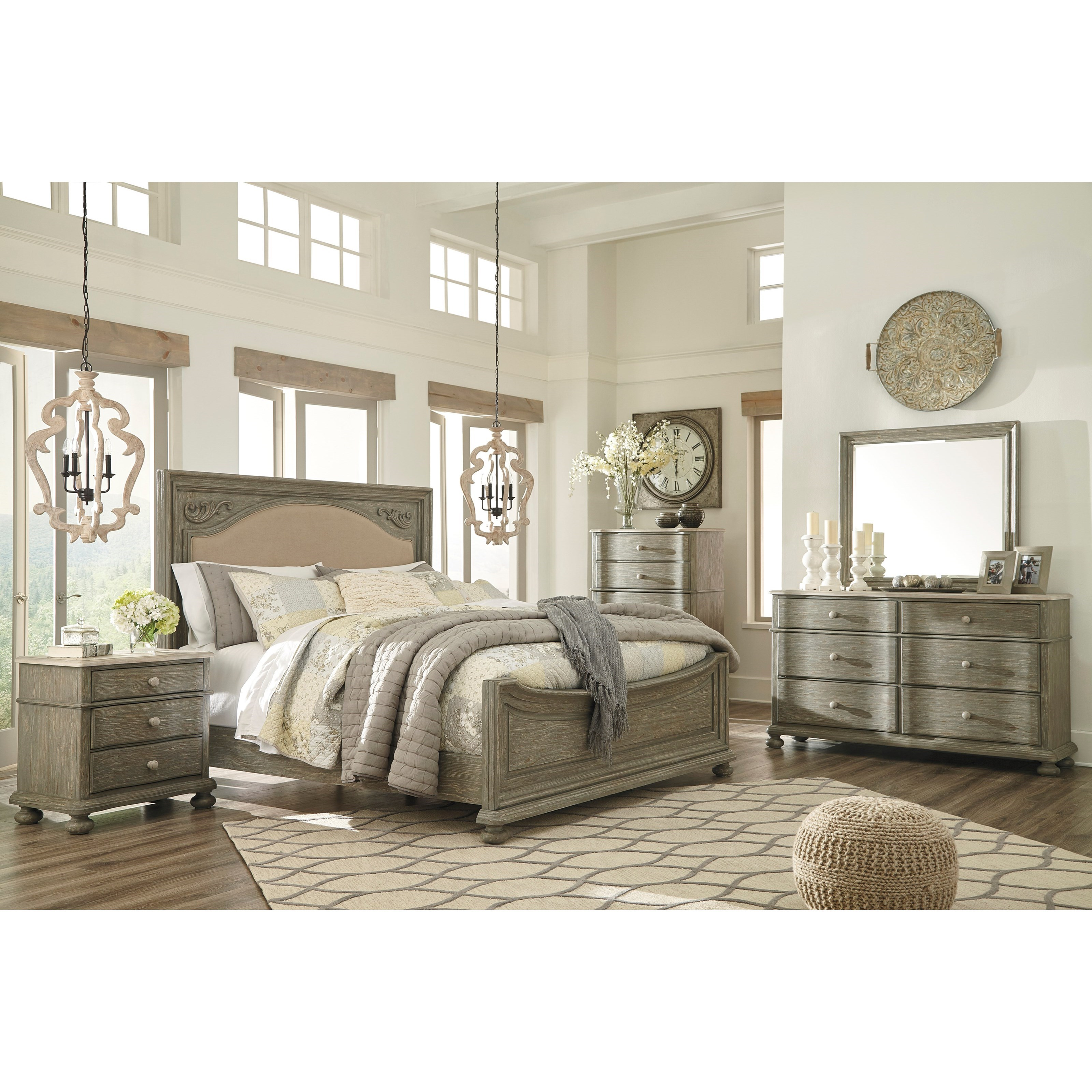 Signature Design by Ashley Marleny Queen Bedroom Group - Item Number: B644 Q  Bedroom Group