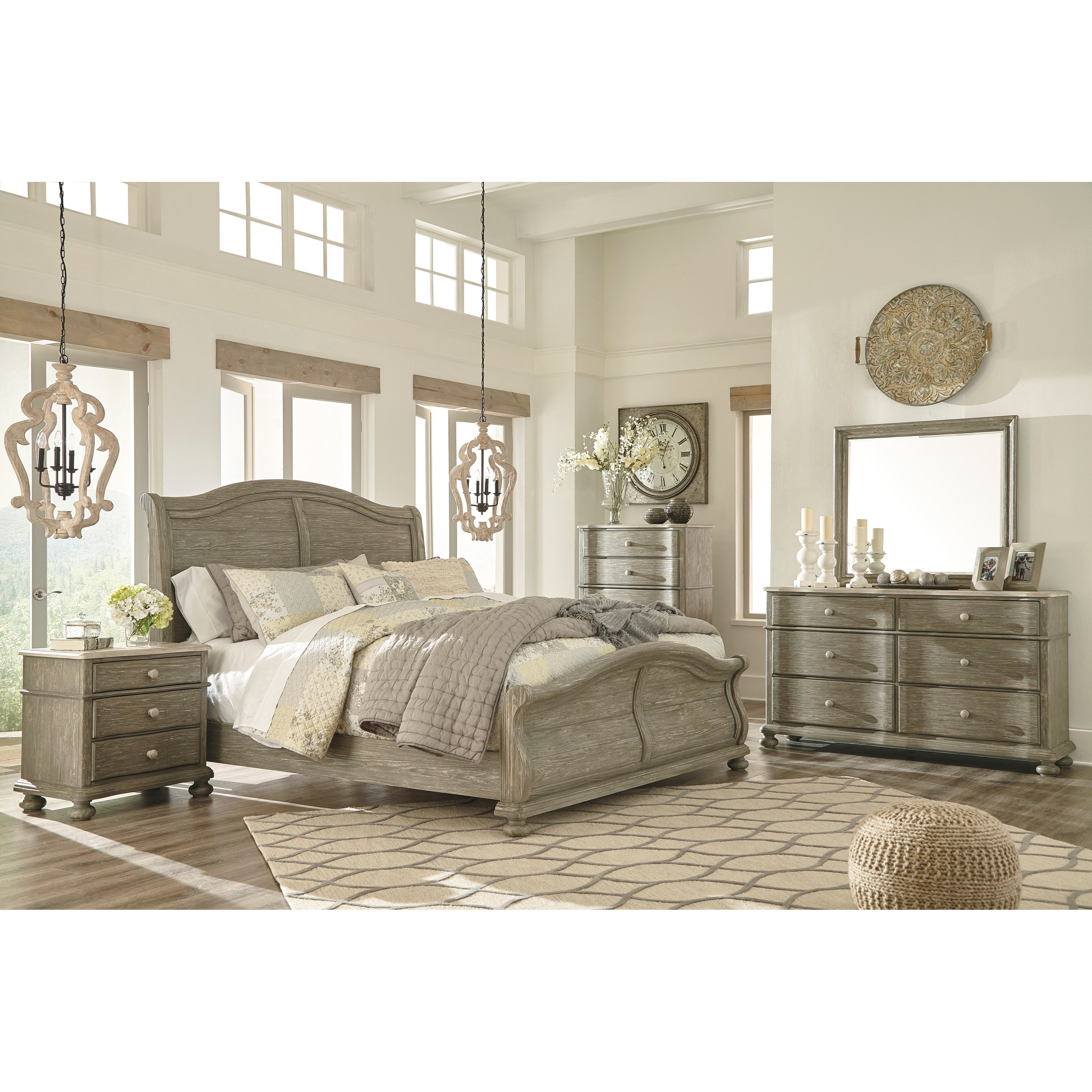 Signature Design by Ashley Marleny Queen Bedroom Group Royal