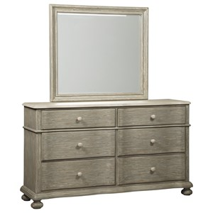 Signature Design by Ashley Marleny Dresser & Bedroom Mirror