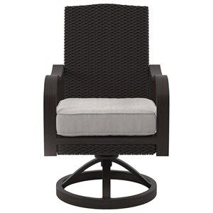Swivel Chair with Cushion