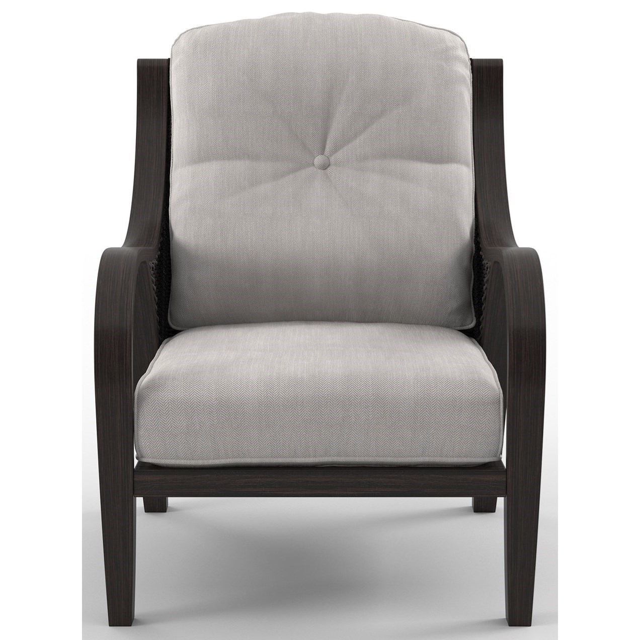 Set of 2 Lounge Chairs with Cushion