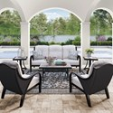 Signature Design by Ashley Marsh Creek Outdoor Sofa with Cushions