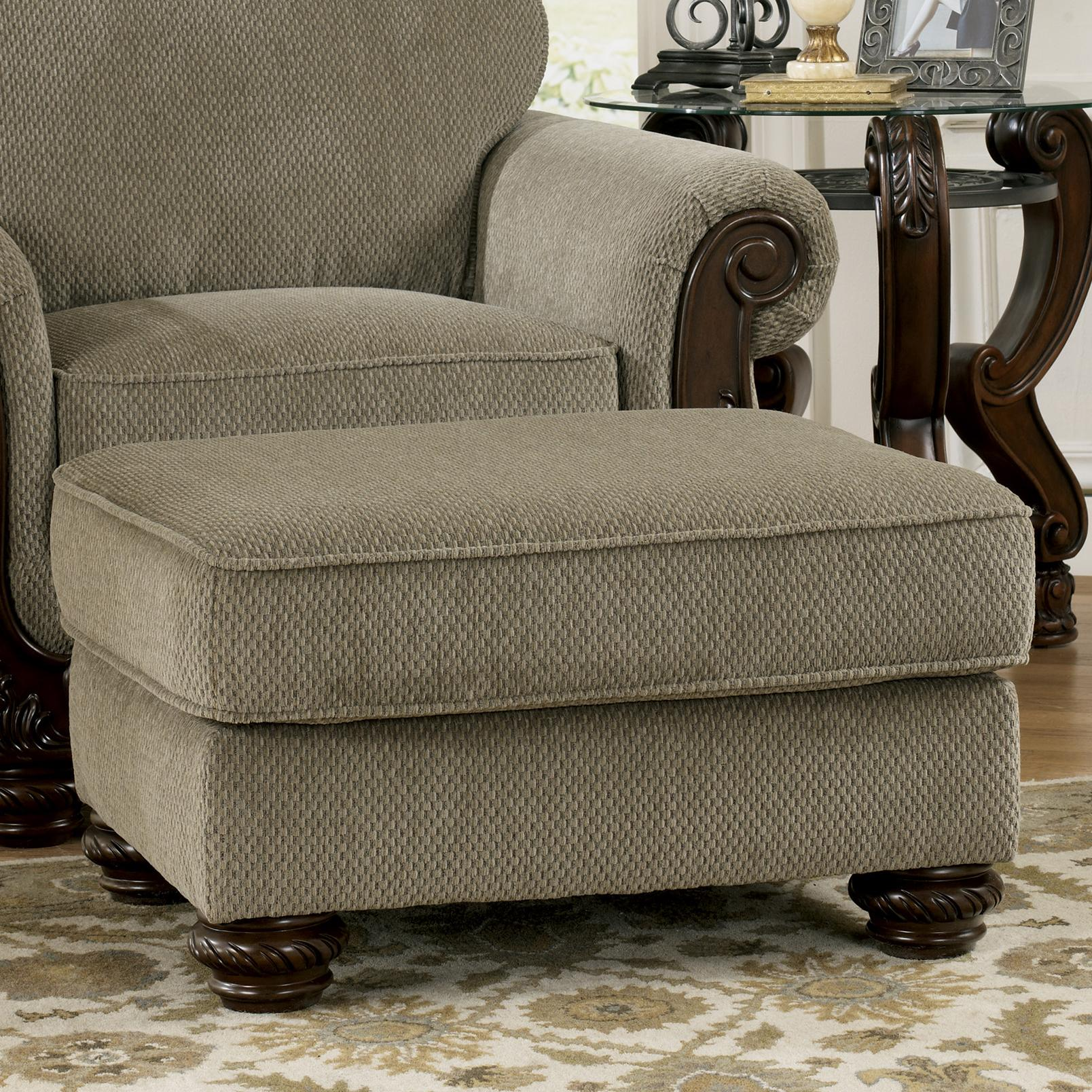 Signature Design by Ashley Martinsburg - Meadow Ottoman - Item Number: 5730014