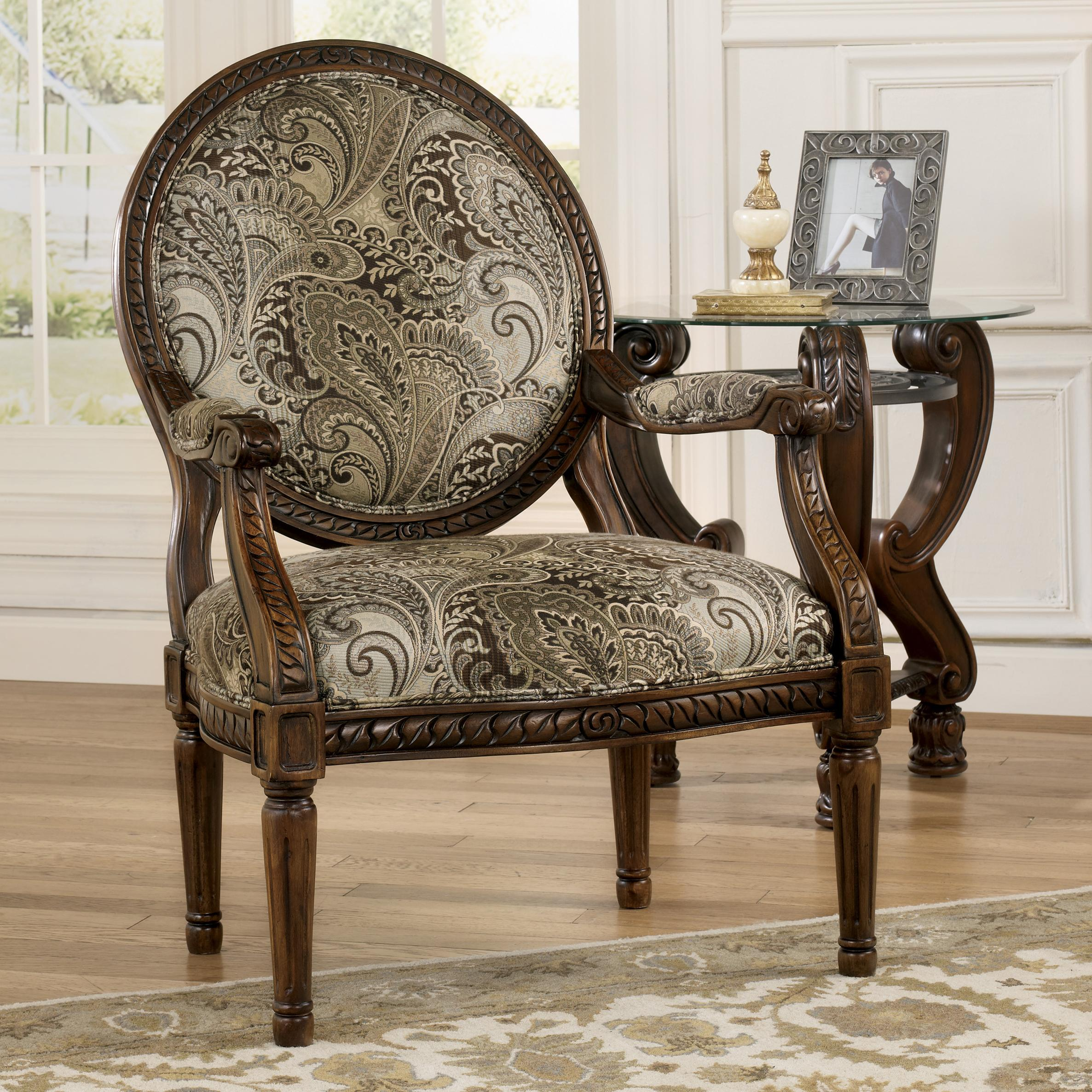 Signature Design by Ashley Martinsburg Showood Accent Chair - Item Number: 5730060
