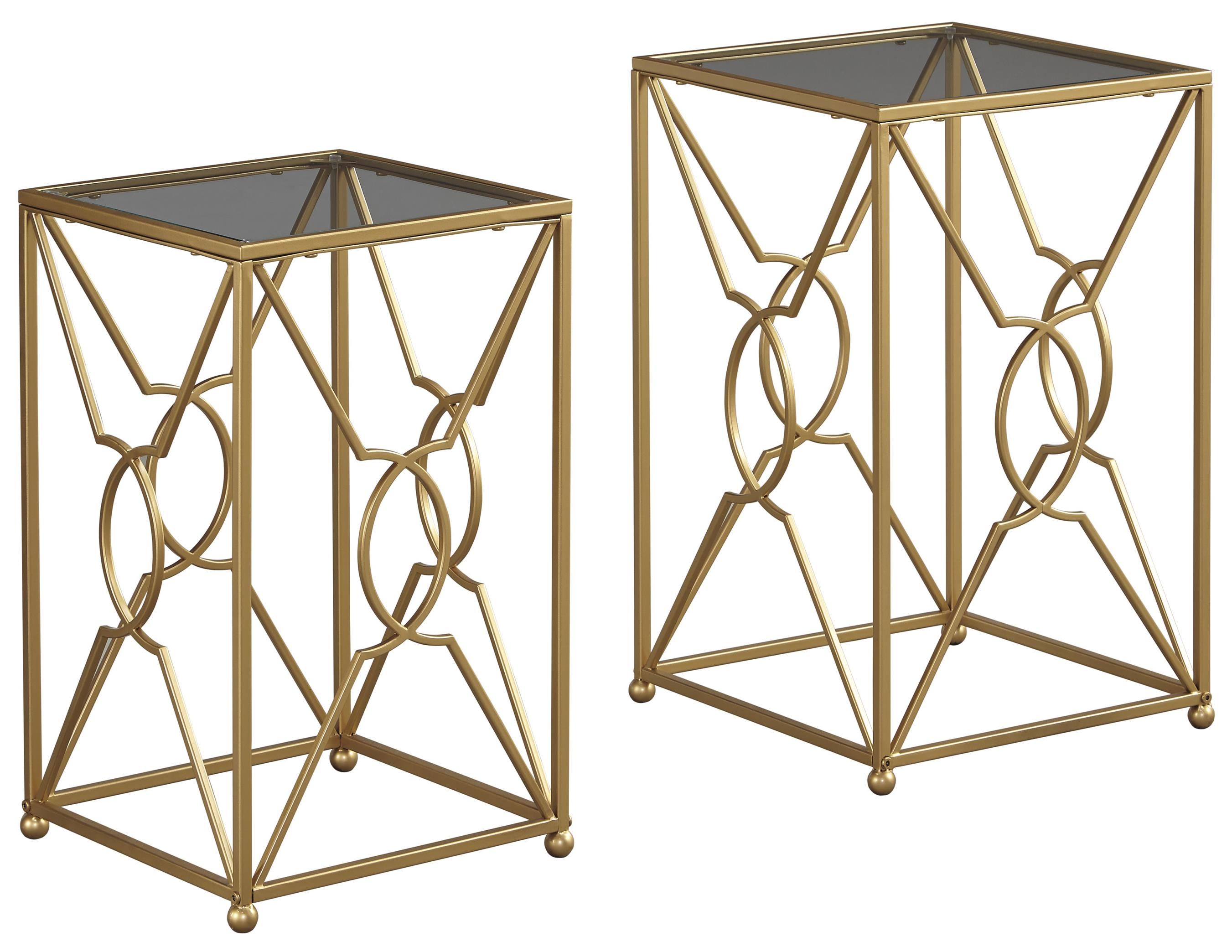 Signature Design by Ashley Marxim Nesting End Tables - Item Number: T506-111