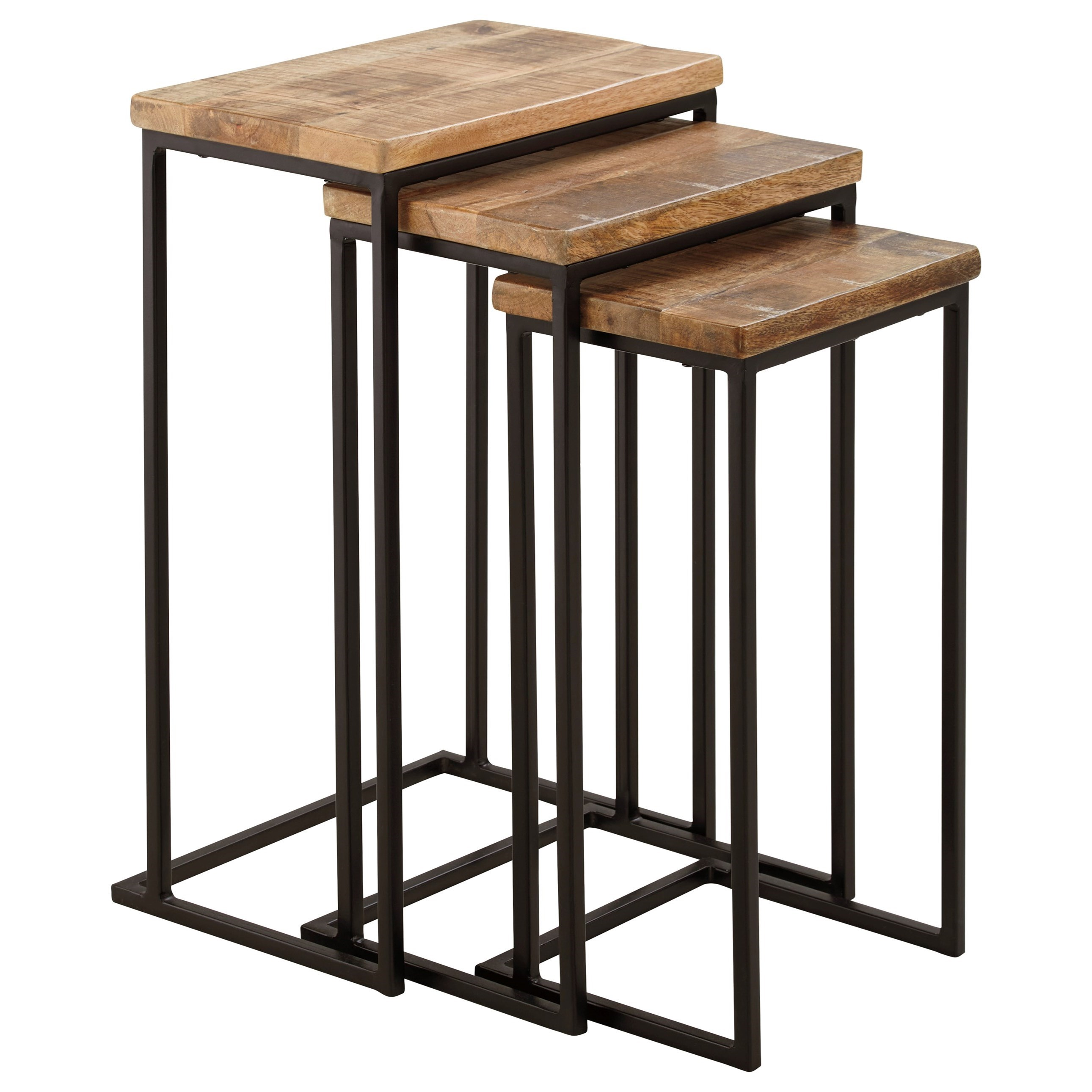 Signature Design by Ashley Marxim Nesting End Tables - Item Number: T506-316