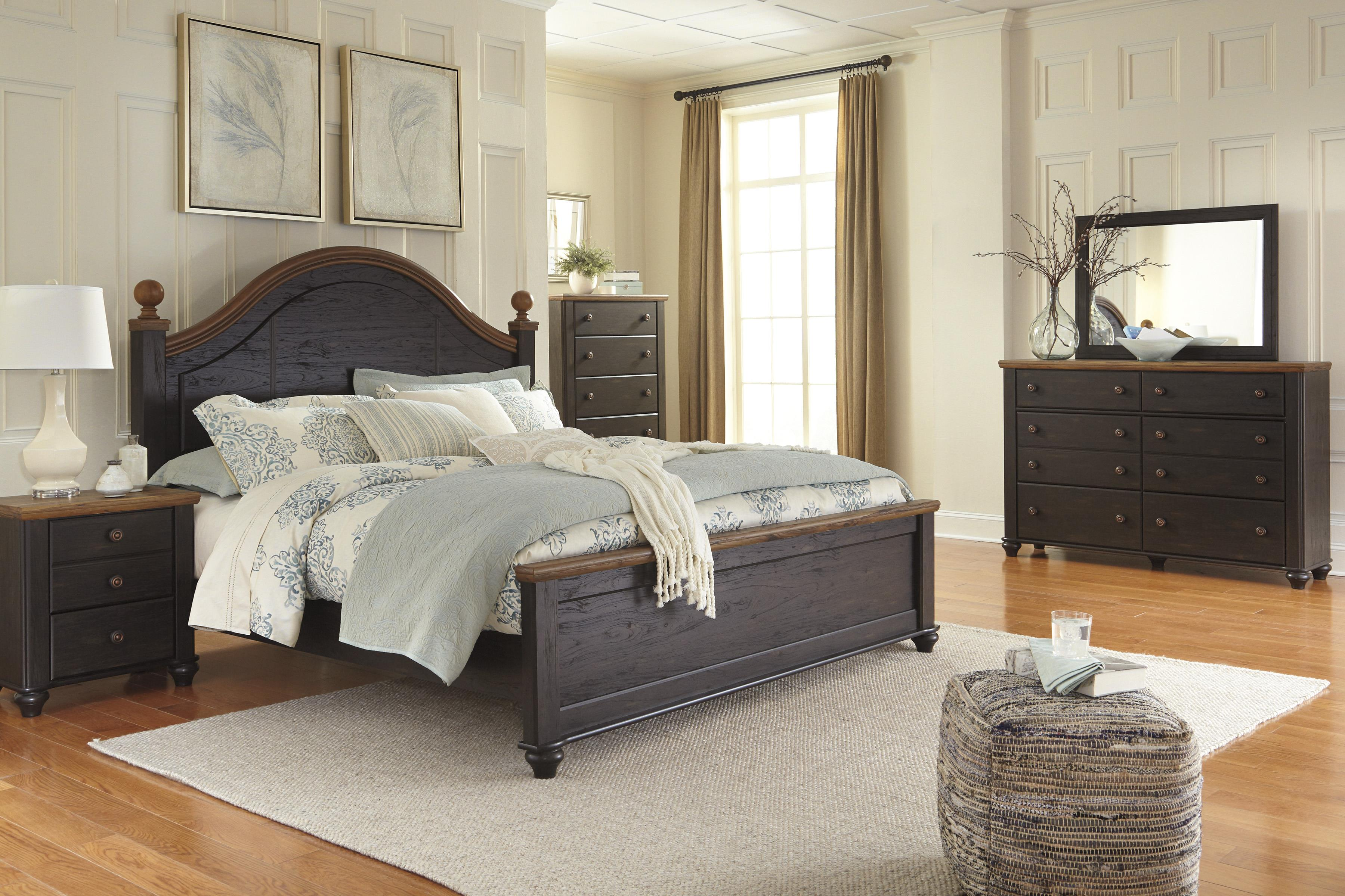 Signature Design by Ashley Maxington King Bedroom Group - Item Number: B220 K Bedroom Group 2