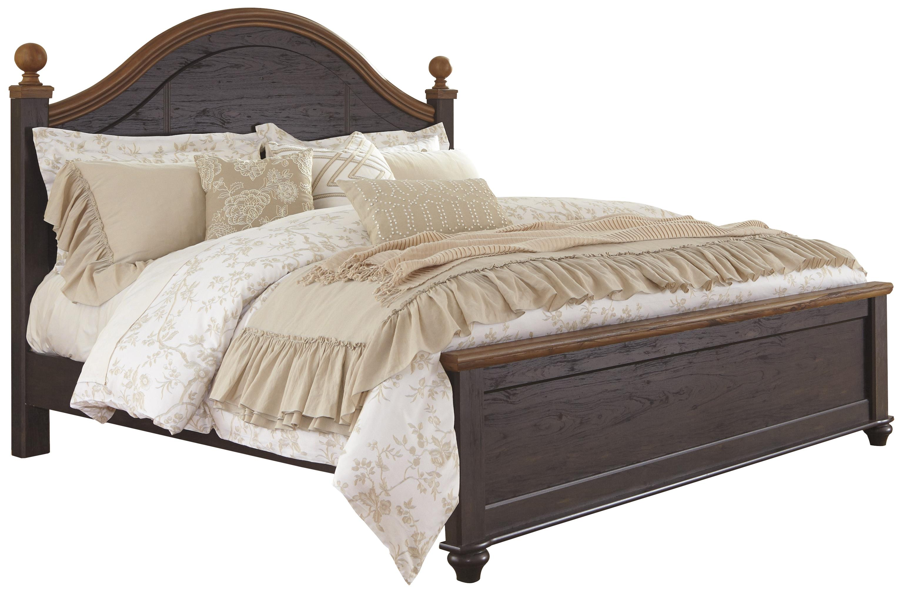 Signature Design by Ashley Maxington King Poster Bed - Item Number: B220-68+56+95