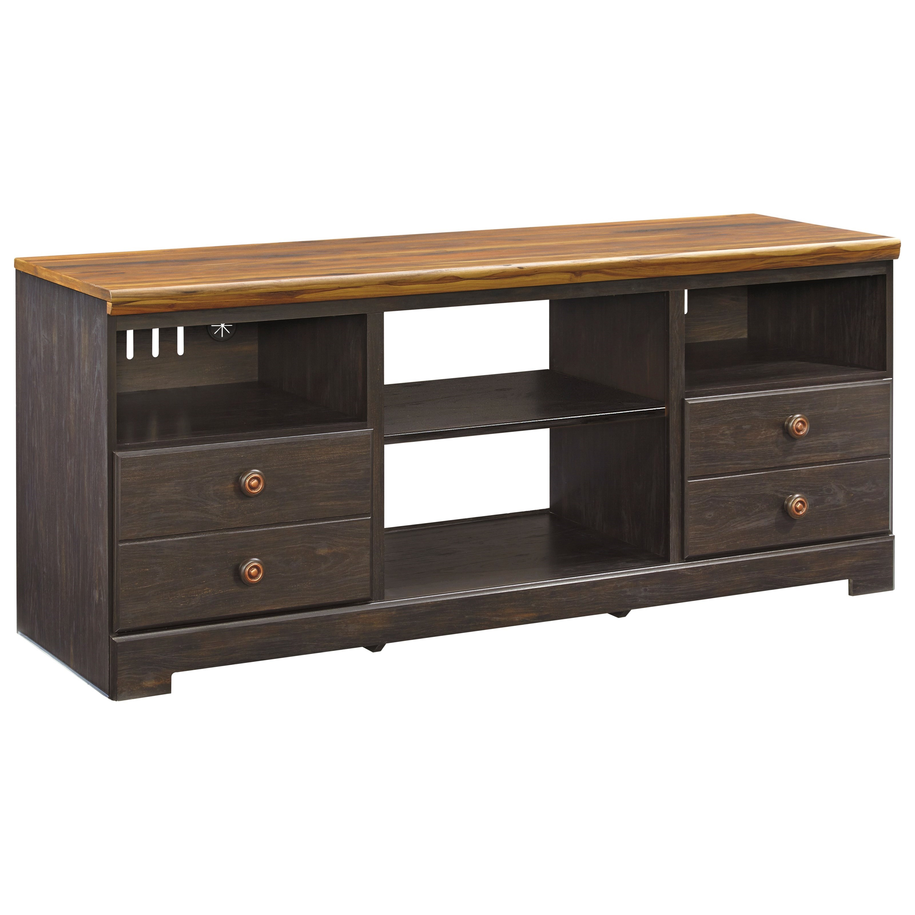 Signature Design by Ashley Maxington Large TV Stand - Item Number: W220-68