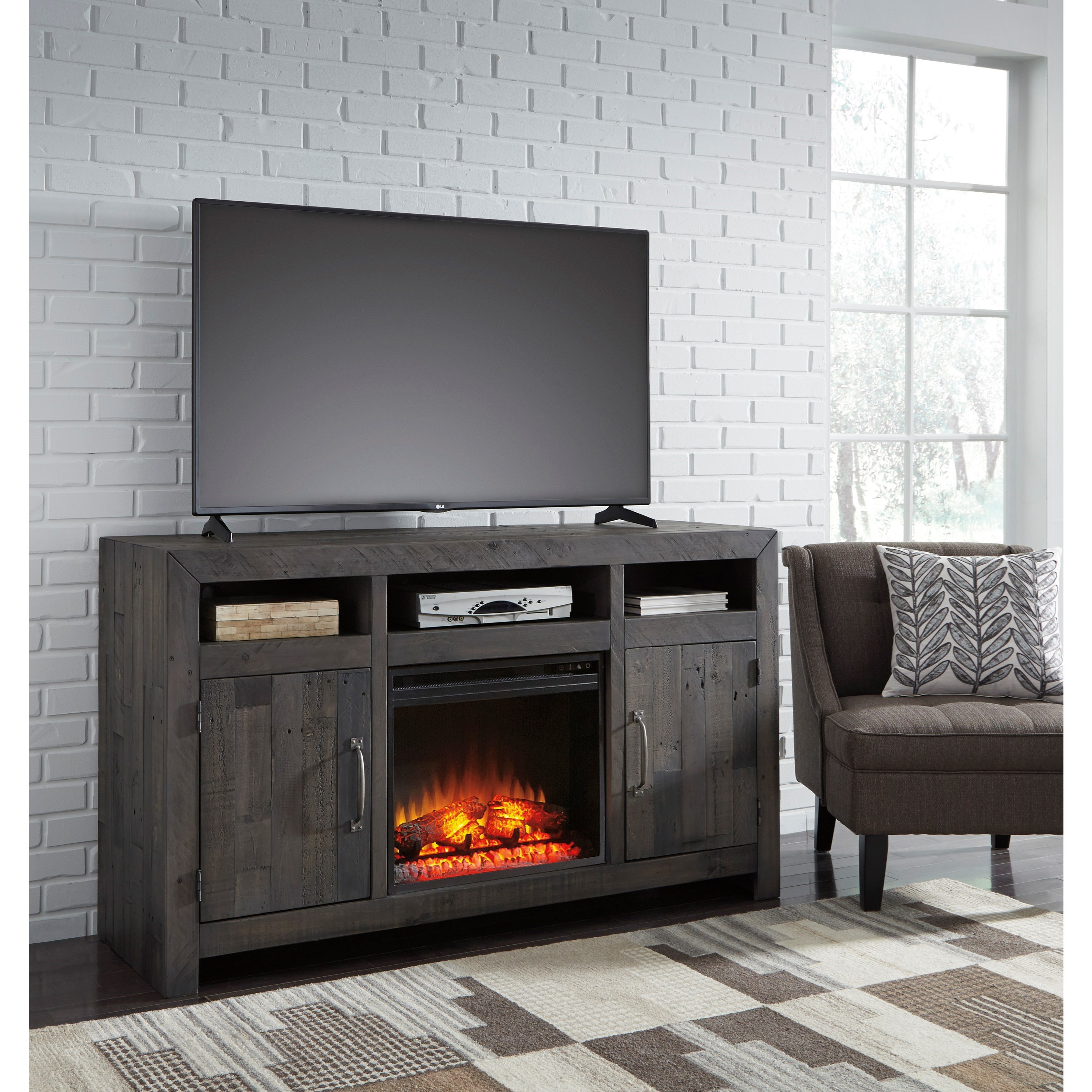 Ashley Furniture Beaumont Tx: Ashley Signature Design Mayflyn Reclaimed Solid Wood Large