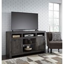 Signature Design by Ashley Mayflyn Reclaimed Solid Wood Large TV Stand