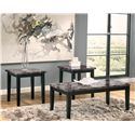 Signature Design by Ashley Maysville Occasional Table Set  - Item Number: T204-13