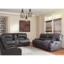 Signature Design by Ashley McCaskill Power Reclining Living Room Group - Item Number: U60900 Living Room Group 4