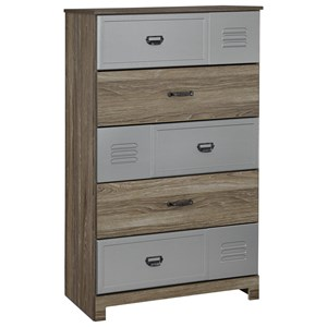 Signature Design by Ashley McKeeth Five Drawer Chest