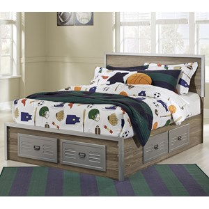 Signature Design by Ashley McKeeth Full Storage Bed