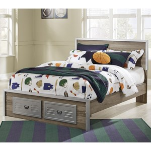 Signature Design by Ashley McKeeth Full Bed with Footboard Drawers