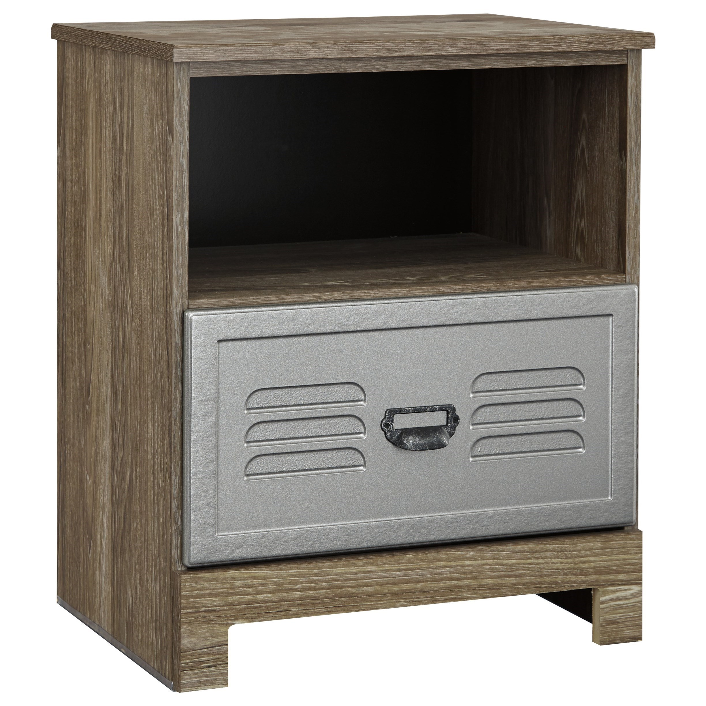 Signature Design by Ashley McKeeth One Drawer Night Stand - Item Number: B099-91