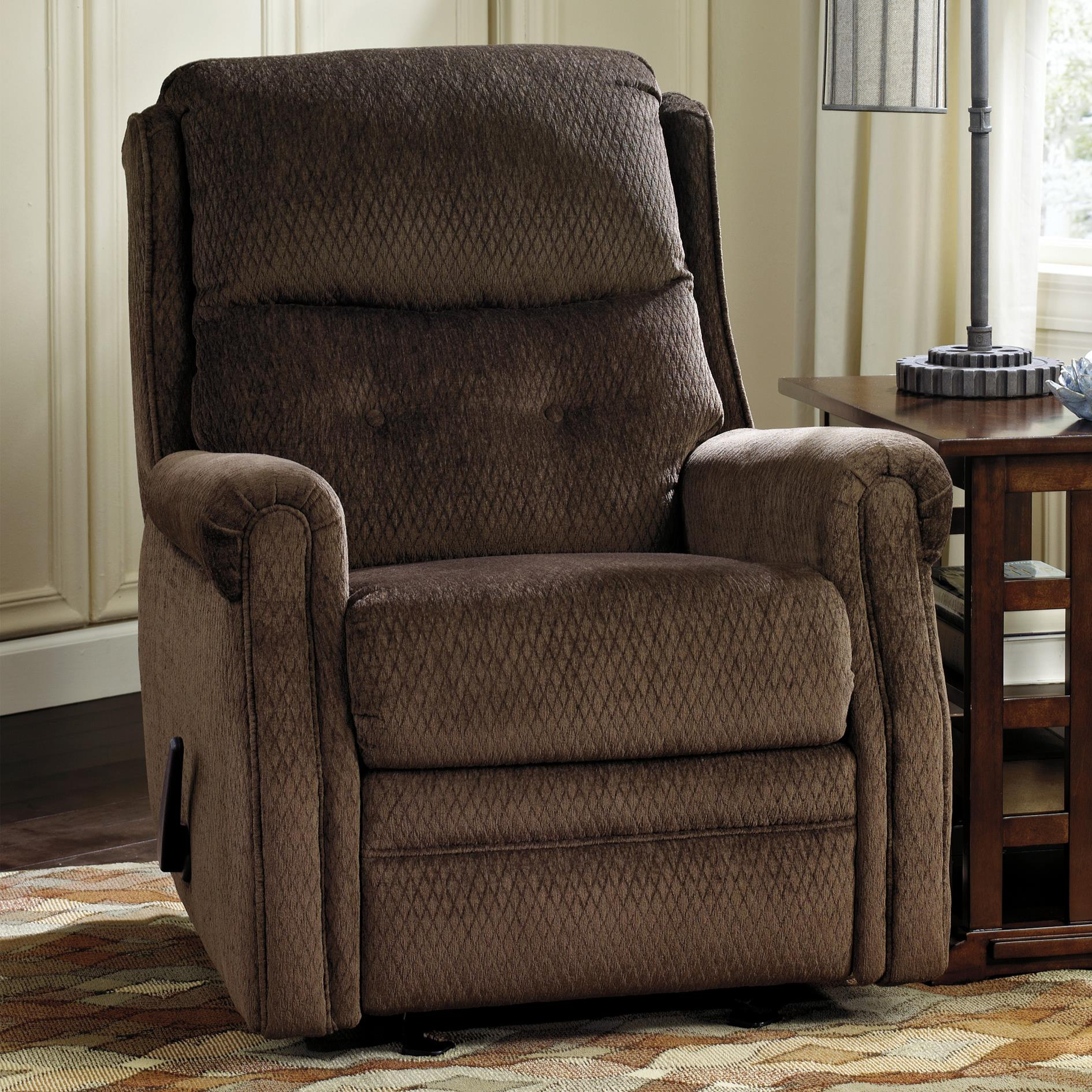 Signature Design by Ashley Meadowbark Glider Recliner - Item Number: 8640527