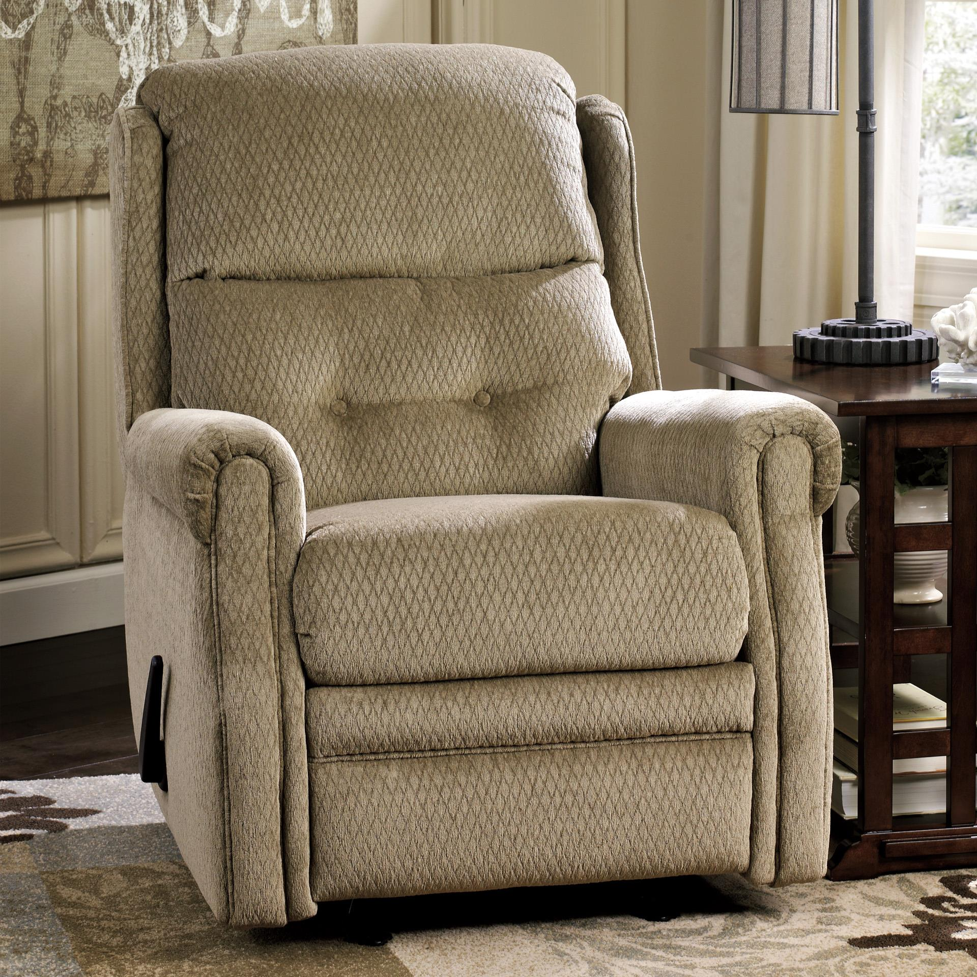 Signature Design by Ashley Meadowbark Glider Recliner - Item Number: 8640727