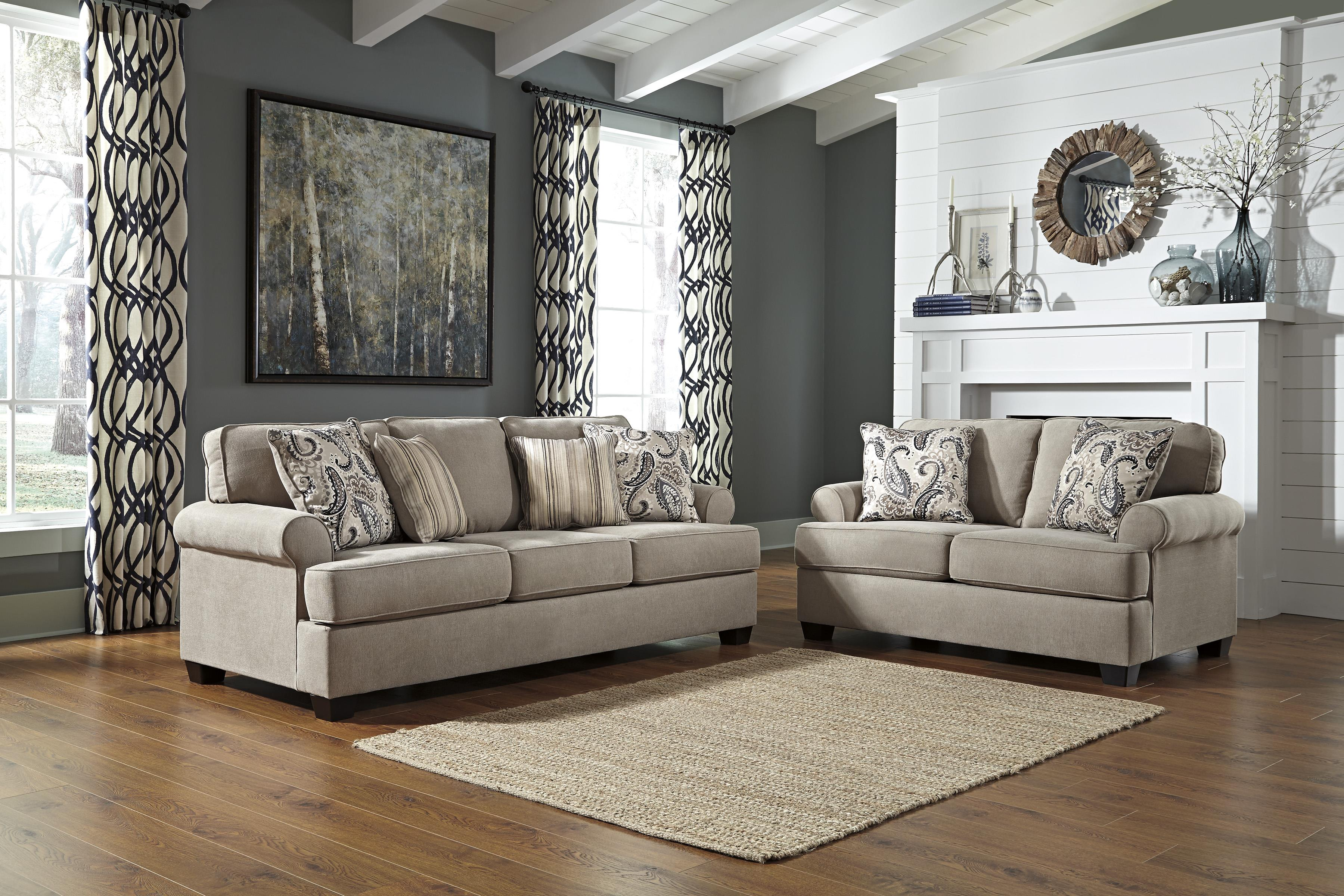 Signature Design by Ashley Melaya Stationary Living Room Group - Item Number: 47800 Living Room Group 1