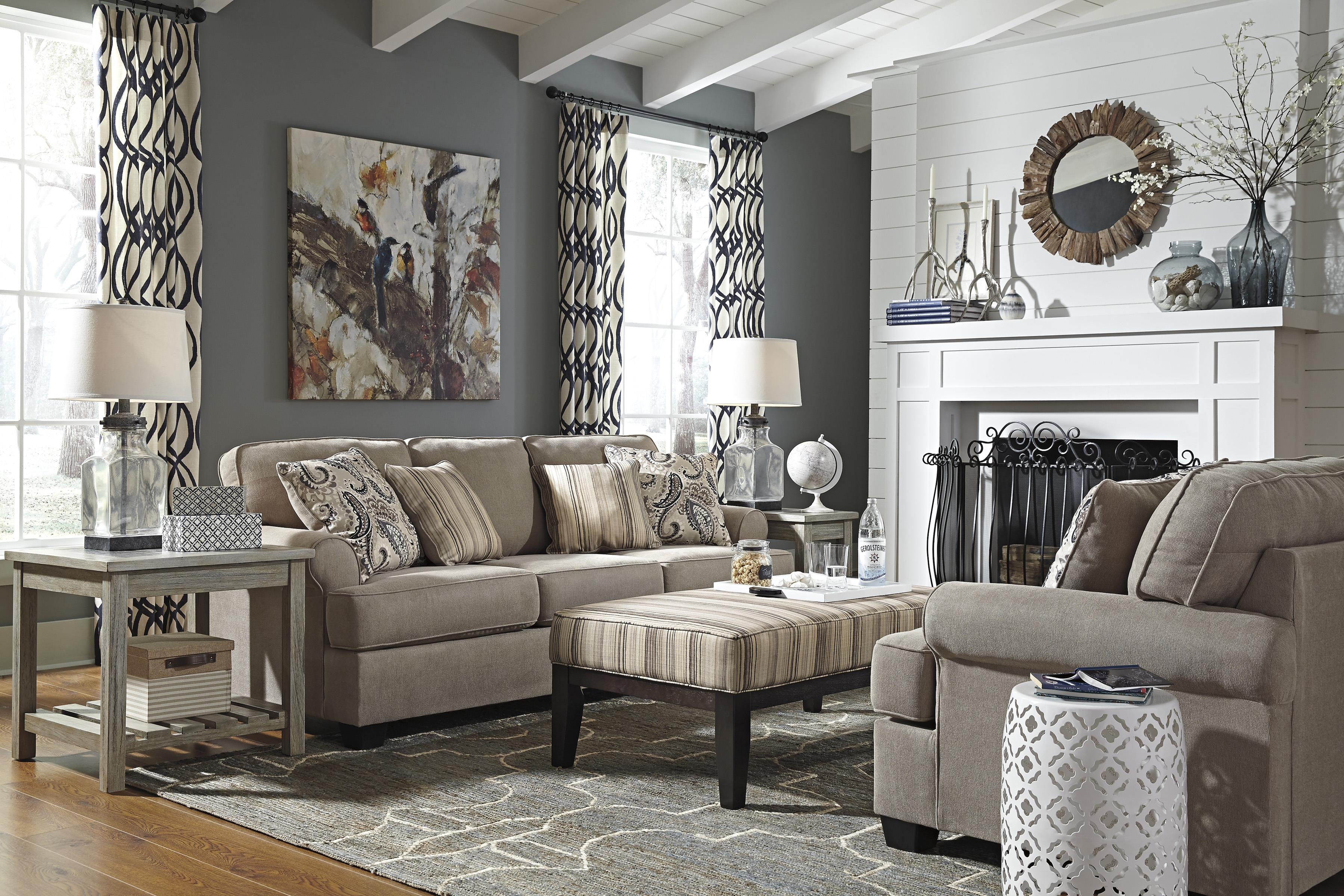 Signature Design by Ashley Melaya Stationary Living Room Group - Item Number: 47800 Living Room Group 2