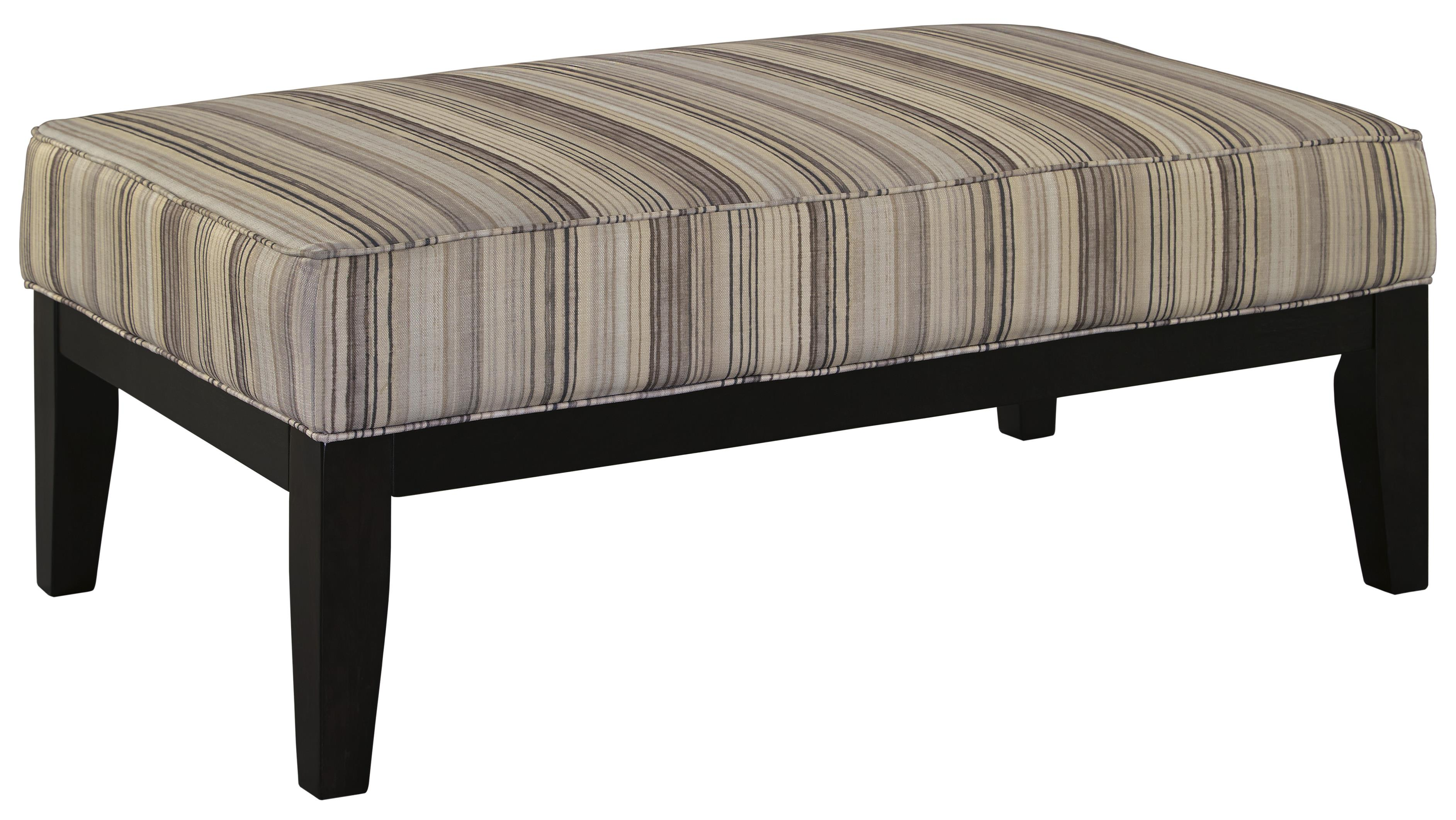Signature Design by Ashley Melaya Oversized Accent Ottoman - Item Number: 4780008